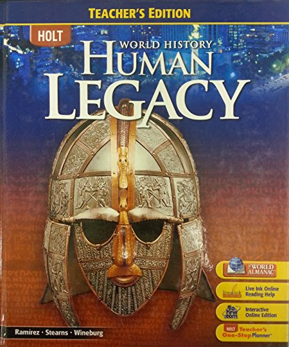 9780030937804: Holt World History: Human Legacy, Teacher's Edition
