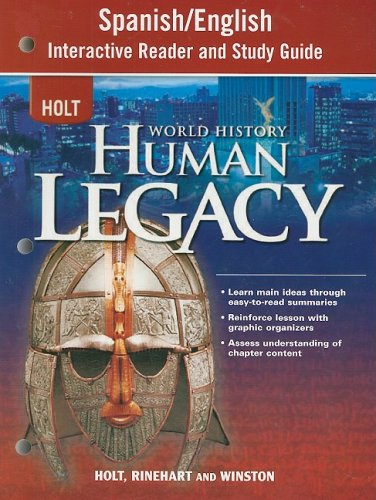 9780030937842: World History: Human Legacy Full Survey: Spanish/English Interactive Reader and Study Guide