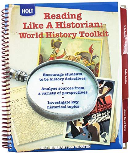 9780030938252: World History: Human Legacy: Reading Like a Historian: World History Toolkit