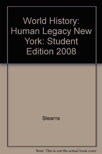 9780030938405: Holt World History: Human Legacy 2008: Student Edition 2008