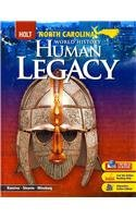 9780030938542: World History: Human Legacy North Carolina: Student Edition 2008