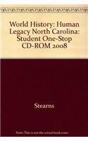 9780030938559: World History: Human Legacy North Carolina: Student One-Stop CD-ROM 2008