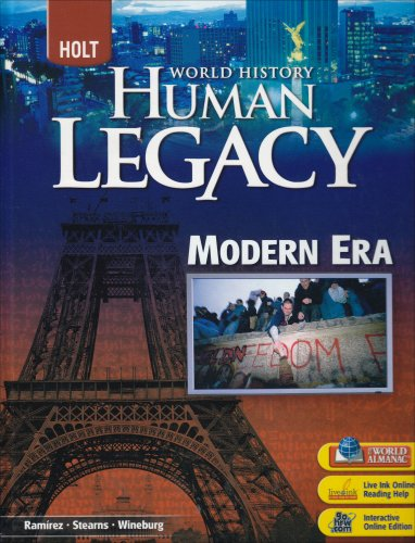 9780030938832: Human legacy modern era. Holt world history. Per le Scuole superiori (World History: Human Legacy)