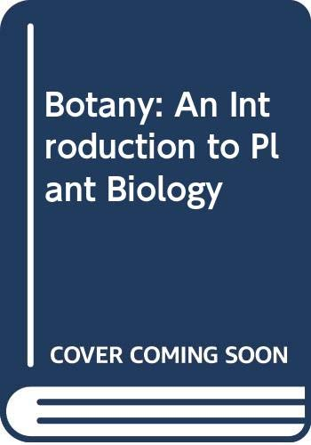 9780030938931: Botany: An Introduction to Plant Biology