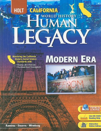 9780030939112: Holt World History: Human Legacy California: Student Edition Modern Era 2008