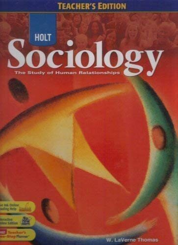 9780030939594: Sociology (The Study of Human Relationships)
