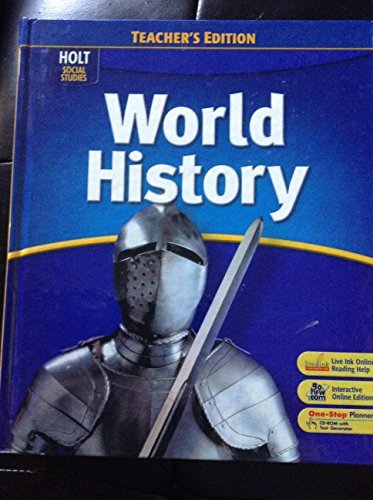 9780030939655: Teacher's Edition Holt Social Studies: World History 2008