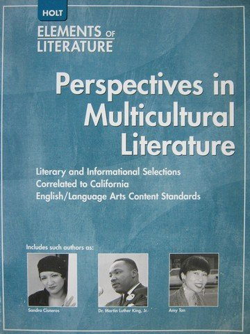 Holt Multicultural Readers California: Student Edition Fourth: HOLT, RINEHART AND