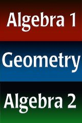 9780030941122: Holt Algebra 1: Classroom Manipulatives Kit Algebra 1, Geometry, Algebra 2