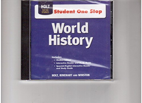 9780030941207: World History: Student One-Stop CD-ROM 2008