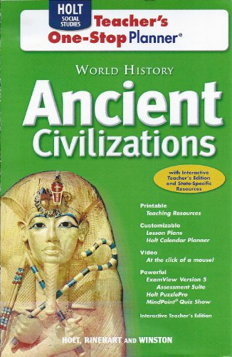 9780030941283: World History: Ancient Civilizations: Teacher One Stop CD-ROM