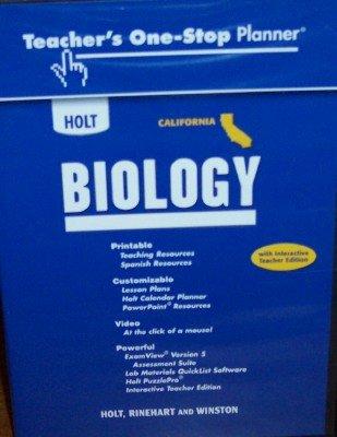 9780030941368: Teacher's One-Stop Planner (Holt California Biology)