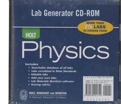 9780030941719: Holt Physics: Lab Generator CD-ROM