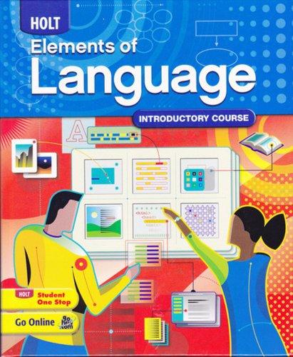9780030941924: Elements of Language: Student Edition Grade 6 2009