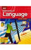 9780030941948: Holt Elements of Language: Second Course, Grade 8