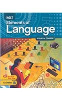 9780030941962: Elements of Language: Student Edition Grade 10 2009