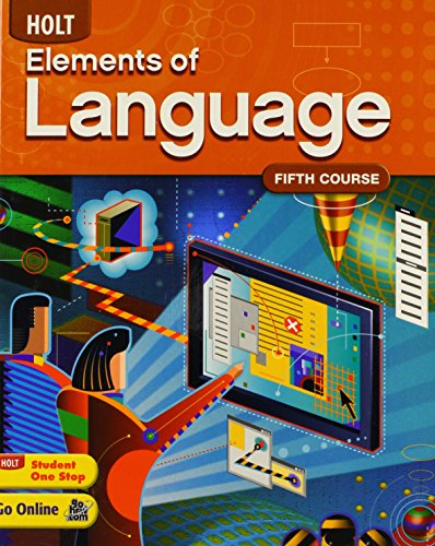9780030941979: Holt Elements of Language, Fifth Course