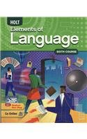 9780030941986: Elements of Language: Student Edition Grade 12 2009