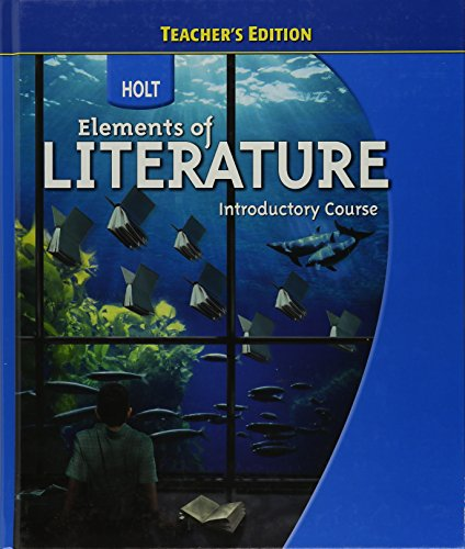 9780030943928: Elements of Literature (Introductory course) Teacher's Edition