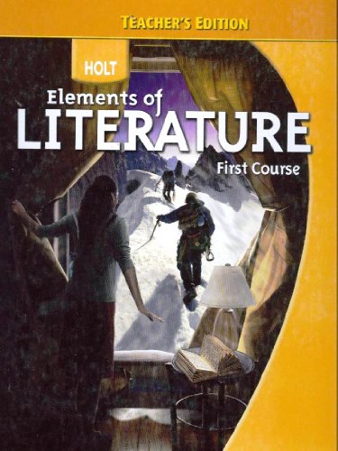 9780030944208: Elements of Literature, 1st Course, Teacher's Edition