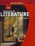 9780030944215: Teacher's Edition Holt Elements of Literature Second Course (Holt Elements of Literature, Second Cou