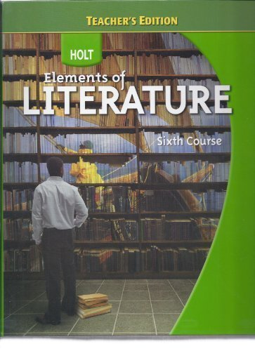 9780030944253: Teacher's edition Elements of Literature, Grade 12: Essentials of British and World Literature Sixth Course 2009