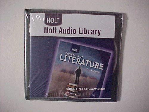9780030944871: Holt Elements of Literature: Holt Audio Library CD-ROM Third Course