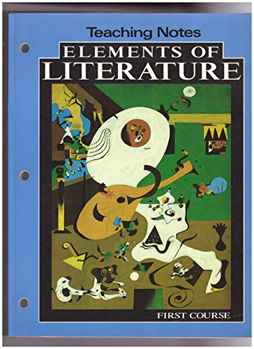 9780030946141: Elements of Literature Teaching Notes (First Course)