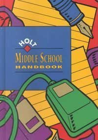 Holt Middle School Handbook: John E. Warriner