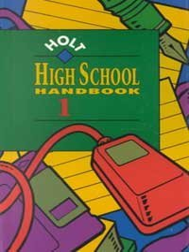 9780030946387: High School Handbook 1