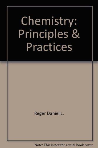 9780030946721: Chemistry: Principles & Practices