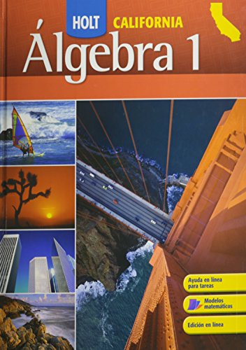 9780030947087: Holt California Algebra 1, Student Edition (Spanish Edition)