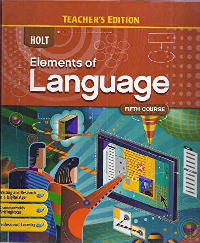 9780030947384: Elements Of Language 11 5th Crs (TE)