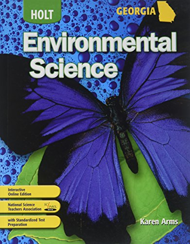 9780030947629: Holt Environmental Science Georgia: Student Edition Holt Environmental Science 2008 2008