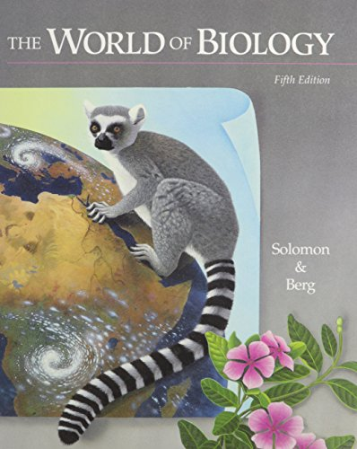 9780030948657: The World of Biology