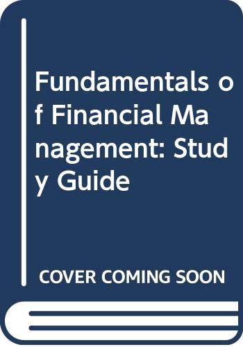 9780030948725: Fundamentals of Financial Management