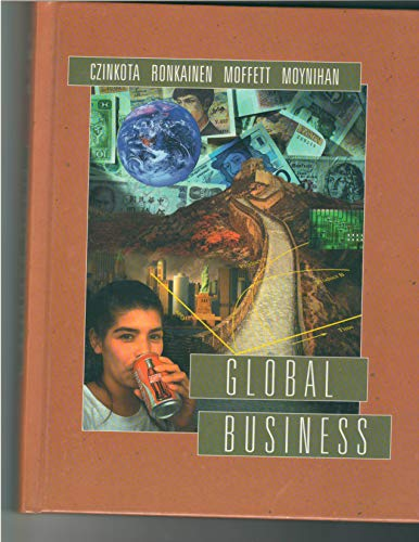 9780030948817: Global Business (The Dryden Press series in management)