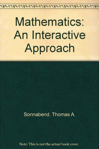 9780030949050: Mathematics: An Interactive Approach