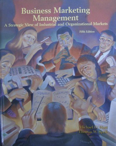 9780030949180: Business Marketing Management: A Strategic View of Industrial and Organizational Markets