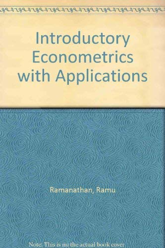 9780030949227: Introductory Econometrics with Applications