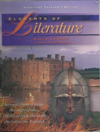 9780030949296: Elements of Literature Sixth Course Annotated Teacher's Edition