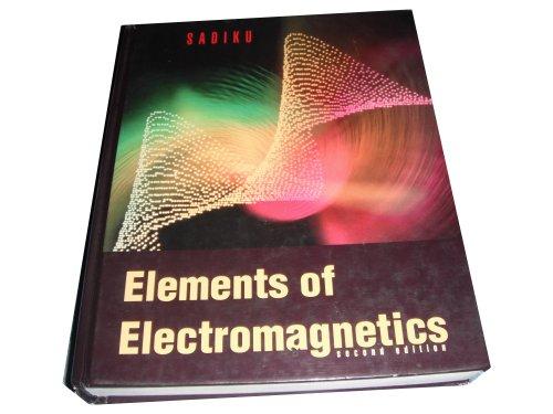 9780030949470: Elements of Electromagnetics