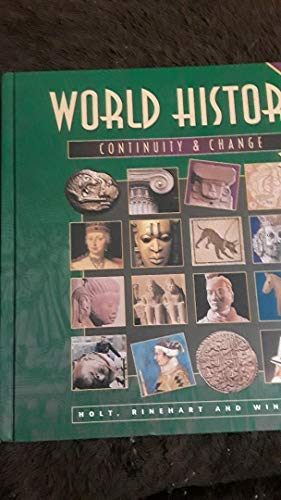 9780030949890: World History, 1997