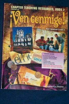Ven Conmigo! Chapter Teaching Resources, Book 2, Chapters 5-8: Sharon Heller