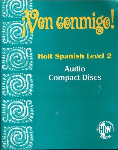 9780030950322: Ven Conmigo Holt Spanish Level 2 Audio Compact Discs (Ven Conmigo)