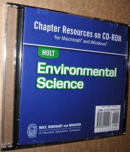 9780030951084: Holt Environmental Science: Transparencies CD-ROM