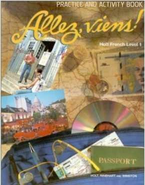 9780030951114: Allez, Viens!: Holt French Level 1 Practice and Activity Book