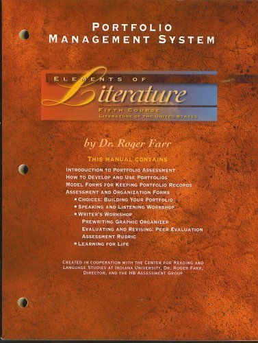 Portfolio Management System, Elements of Literature, Fifth: Roger Farr