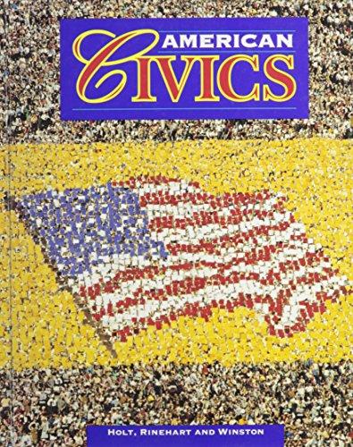 9780030952661: American Civics