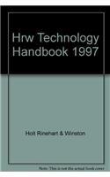 9780030952920: HRW Technology Handbook